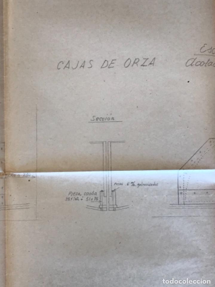 "Documentos antiguos: IMPORTANTES 5 PLANOS ORGINALES DEL BALANDRO "" SNIPE"" VELERO 1940'S. VER FOTOS ANEXAS. - Foto 25 - 266116108"