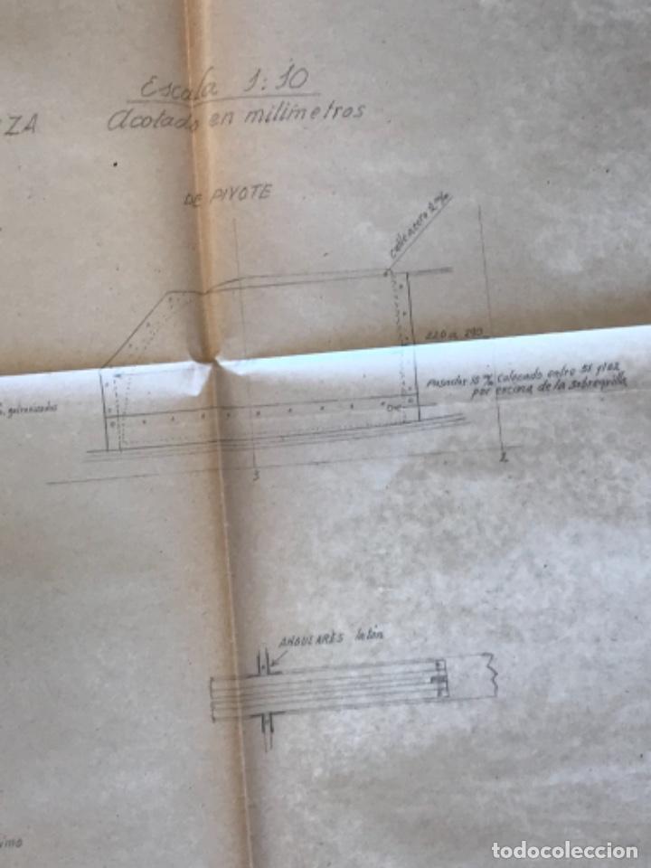 "Documentos antiguos: IMPORTANTES 5 PLANOS ORGINALES DEL BALANDRO "" SNIPE"" VELERO 1940'S. VER FOTOS ANEXAS. - Foto 26 - 266116108"