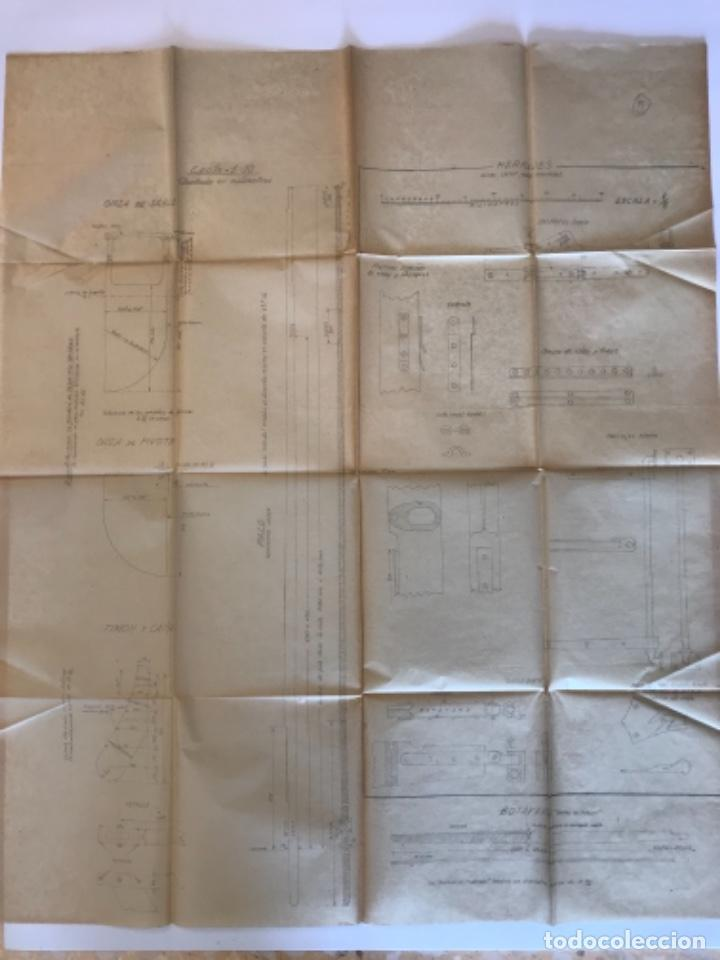 "Documentos antiguos: IMPORTANTES 5 PLANOS ORGINALES DEL BALANDRO "" SNIPE"" VELERO 1940'S. VER FOTOS ANEXAS. - Foto 28 - 266116108"