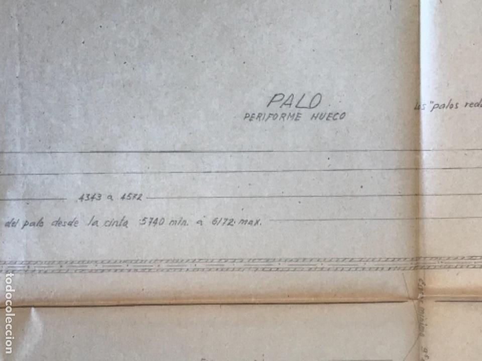 "Documentos antiguos: IMPORTANTES 5 PLANOS ORGINALES DEL BALANDRO "" SNIPE"" VELERO 1940'S. VER FOTOS ANEXAS. - Foto 31 - 266116108"