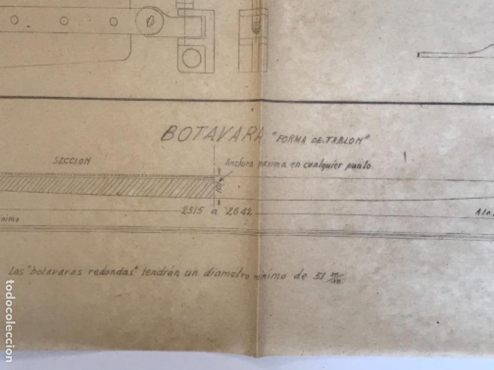 "Documentos antiguos: IMPORTANTES 5 PLANOS ORGINALES DEL BALANDRO "" SNIPE"" VELERO 1940'S. VER FOTOS ANEXAS. - Foto 32 - 266116108"