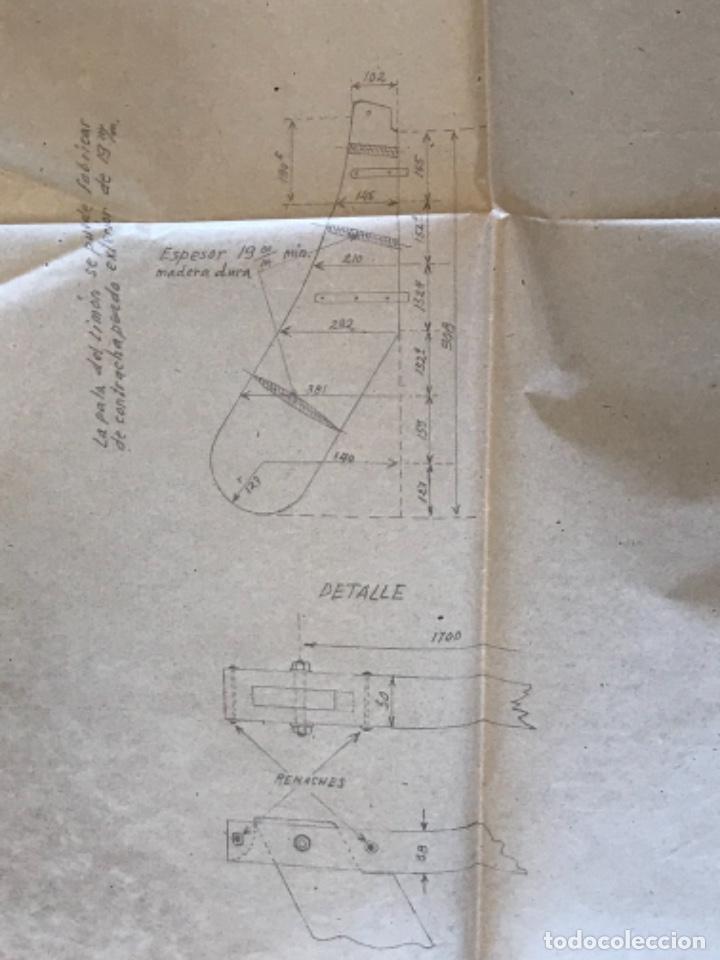 "Documentos antiguos: IMPORTANTES 5 PLANOS ORGINALES DEL BALANDRO "" SNIPE"" VELERO 1940'S. VER FOTOS ANEXAS. - Foto 33 - 266116108"