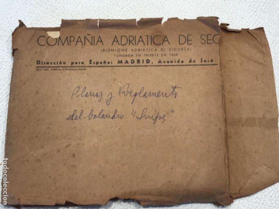 "Documentos antiguos: IMPORTANTES 5 PLANOS ORGINALES DEL BALANDRO "" SNIPE"" VELERO 1940'S. VER FOTOS ANEXAS. - Foto 35 - 266116108"