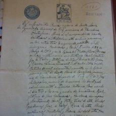 Documentos antiguos: CERTIFICADO DE MATRIMONIO. AÑO 1924. MUY CURIOSO. VINTAGE.. Lote 266903929