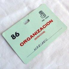 Documentos antiguos: PAE DE ORGANIZACIÓN PSE-PSOE 1986. Lote 268128654