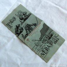 Documentos antiguos: DEPARTAMENTO DE ACCIÓN SOCIAL 1963. Lote 268129949