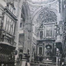Documentos antiguos: CORDOBA CATEDRAL SILLERIA DEL CORO HUECOGRABADO 1958. Lote 268868044