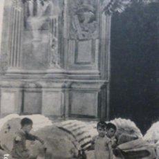 Documentos antiguos: CORDOBA FRENTE A LA CASA DE JERONIMO PAEZ HUECOGRABADO 1958. Lote 268868304