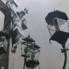 Documentos antiguos: CORDOBA CRISTO DE LOS FAROLES HUECOGRABADO 1958. Lote 268868699
