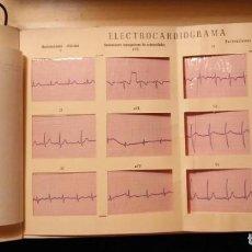 Documentos antiguos: ELECTROCARDIOGRAMA DESPLEGABLE POR DR. O RAMIS PICHARDO - BARCELONA 1966 - CON INFORME ESCRITO. Lote 274684803