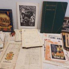 Documentos antiguos: DOCUMENTACIÓN ANTIGUA / PAPELES, FOLLETOS, CARTELES, LIBRETOS, Y CURIOSIDADES / LEER Y VER FOTOS.. Lote 276015173
