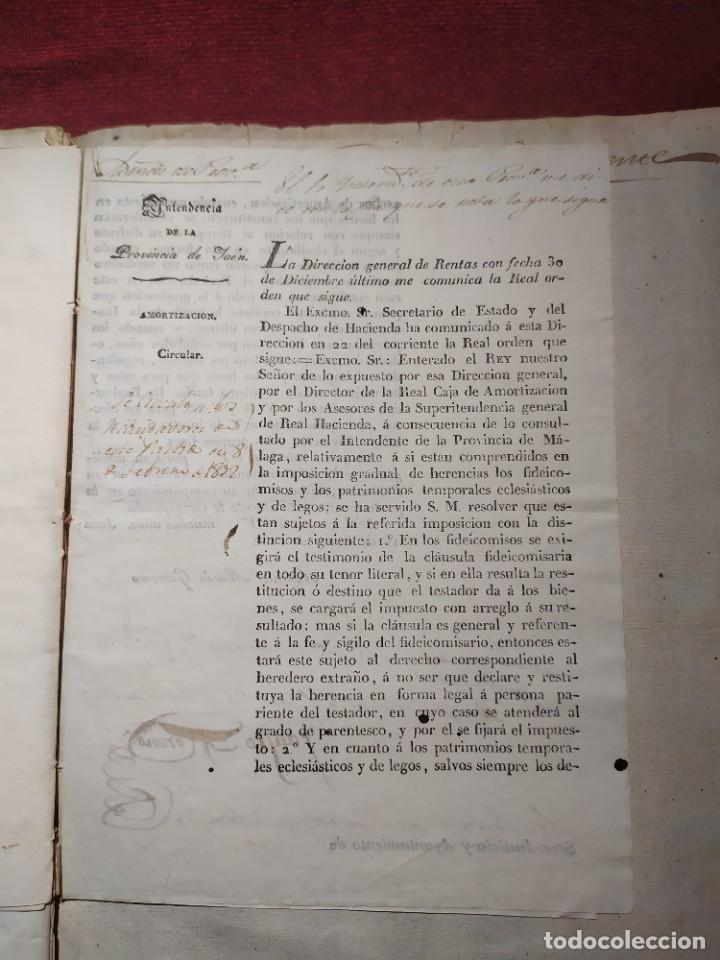Documentos antiguos: 1831. Documentos. Herencia. - Foto 10 - 276706278