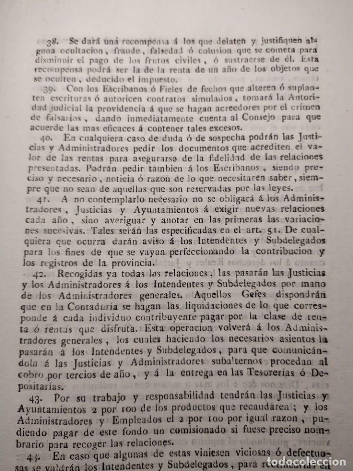 Documentos antiguos: 1824. Documento. Real Decreto. Instrucción. - Foto 4 - 276709238