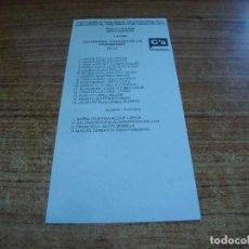 Documentos antiguos: PAPELETA ELECCIONES PARLAMENTO CATALUNYA 2015 DIPUTADOS LLEIDA CIUTADANS. Lote 277013383