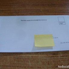 Documentos antiguos: SOBRE CERRADO CAMPAÑA ELECTORAL NO INDICA PARTIDO. Lote 277228753