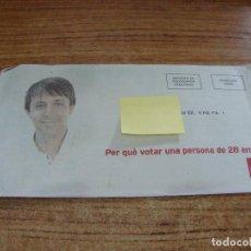 Documentos antiguos: SOBRE CERRADO CAMPAÑA ELECTORAL PSC. Lote 277228803