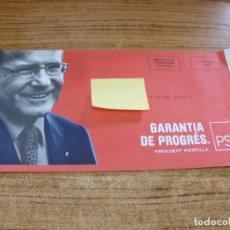 Documentos antiguos: SOBRE CERRADO CAMPAÑA ELECTORAL PSC. Lote 277228868