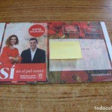 Documentos antiguos: SOBRE CERRADO CAMPAÑA ELECTORAL PSC. Lote 277229793