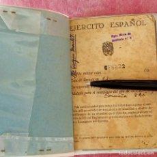 Documentos antiguos: CARTILLA MILITAR DEL EJERCITO ESPAÑOL DE 1950. Lote 277260973