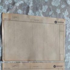 Documentos antiguos: DOCUMENTOS INTERNOS DE BARREIROS DIESEL SOBRE AUTOBÚS B 312. Lote 277264848