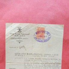 Documentos antiguos: ANDRES ARIAS BORDES.-FALANGE ESPAÑOLA TRADICIONALISTA Y DE LAS JONS.-UBEDA.-AÑO 1940.. Lote 277641428