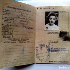 Documentos antiguos: PASAPORTE ESPAÑA (COMPL.32 PAG.) EXPEDIDO 1960 CON VISADOS (VER DESCRIPCIÓN). Lote 277688283