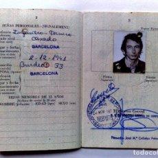 Documentos antiguos: PASAPORTE ESPAÑA (COMPL.32 PAG.) EXPEDIDO 1973,MUCHOS VISADOS Y CUÑOS BANCARIOS (VER DESCRIPCIÓN). Lote 277689228
