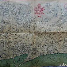 Documentos antigos: PR-2286. PLANO GENERAL DE BARCELONA, SU ENSANCHE Y AGREGACIÓN. AÑO 1904. Lote 278919808