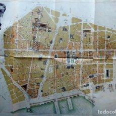 Documentos antiguos: PR-2287. PLANO DE LA REFORMA INTERIOR DE LA CIUDAD DE BARCELONA. AÑO 1891. Lote 278920453