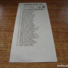 Documentos antiguos: PAPELETA ELECCIONES LOCALES CONCEJALES BARCELONA 1979 LLIGA COMUNISTA REVOLUCIONARIA. Lote 278932193