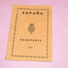 Documentos antiguos: ANTIGUO PASAPORTE ESPAÑOL EXPEDIDO EN CASTELLÓN EN EL AÑO 1924. Lote 279376568