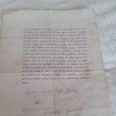 Documentos antiguos: CARTA DE VENTA DE PANERA DE 6 PEGOLLOA A UN VECINO DE PIEDELORO CARREÑO ASTURIAS 1931 ,EN 1150 PTA. Lote 281809288
