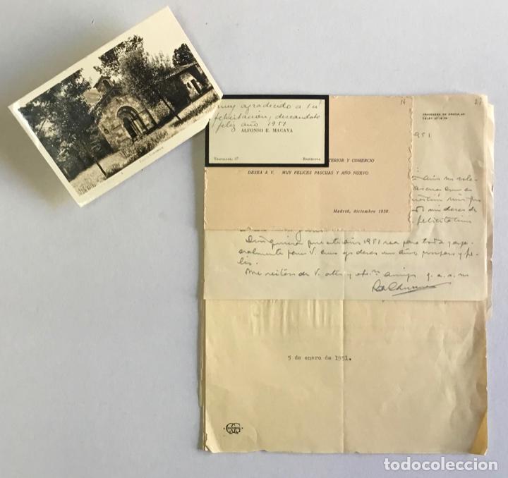 Documentos antiguos: [MANUSCRITO]. [Correspondencia recibida por Joan PRATS I TOMÀS.] - Associació de Bibliòfils de Barce - Foto 2 - 286800788