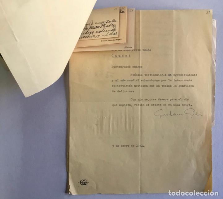 Documentos antiguos: [MANUSCRITO]. [Correspondencia recibida por Joan PRATS I TOMÀS.] - Associació de Bibliòfils de Barce - Foto 4 - 286800788