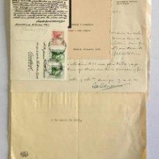 Documentos antiguos: [MANUSCRITO]. [CORRESPONDENCIA RECIBIDA POR JOAN PRATS I TOMÀS.] - ASSOCIACIÓ DE BIBLIÒFILS DE BARCE. Lote 286800788