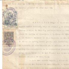 Documentos antigos: LAS PALMAS DE GRAN CANARIAS. IMPUESTO MUNICIPAL 1,50PTS 26 DE SEPTIEMBRE DE 1945. Lote 287495933