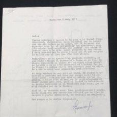 Documentos antiguos: INTERESANTE DOCUMENTACIÓN DE LA BISBAL DEL PENEDÈS 1971 POLIESPORTIU. TARRAGONA .. Lote 288311618