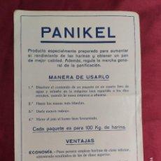 Documentos antiguos: HOJA ORIGINAL PUBLICIDAD. PANIKEL.. Lote 288579873