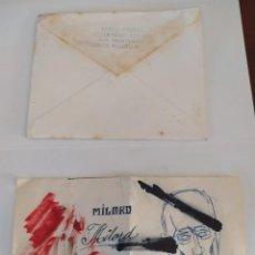 Documentos antiguos: SOBRE ENVIADO DESDE PUERTO RICO AL PINTOR SOLE PUJOL.. Lote 289671093