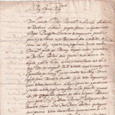 Documentos antiguos: DOCUMENTO DE 1603 ESCRITO EN VALENCIANO. JUAN DE RIBERA, ARZOBISPO DE VALENCIA. VICENTE BELLVIS. Lote 294500128