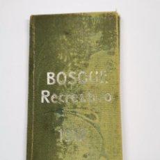 Documentos antiguos: P-12927. CARNET SOCIO BOSQUE RECREATIVO GRACIA, BARCELONA 1912.. Lote 295480753