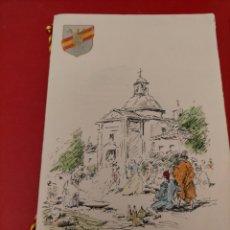 Documentos antiguos: MENÚ CASA DE CAMPO 1948. Lote 296820158