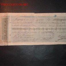 Documentos bancarios: LETRA DE CAMBIO DEL SIGLO XIX ;LIBRADO VALDESPINO,LIBRADOR-GUILLERMO VOGEL Y COMPAÑIA. Lote 557074