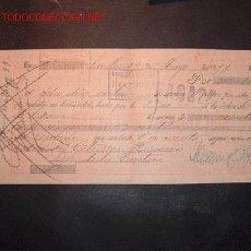 Documentos bancarios: LETRA DE CAMBIO DEL SIGLO XIX CON SELLO DE IMPUESTO DE GUERRA(1898-99). Lote 645440