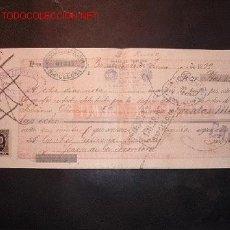 Documentos bancarios: LETRA DE CAMBIO DEL SIGLO XIX CON 2 SELLO DE IMPUESTO DE GUERRA(1898-99). Lote 647495