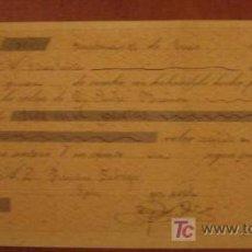 Documentos bancarios: LETRA DE CAMBIO, 1896. Lote 3918137