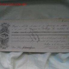 Documentos bancarios: PAGARE BANCO DE BILBAO. Lote 14059956