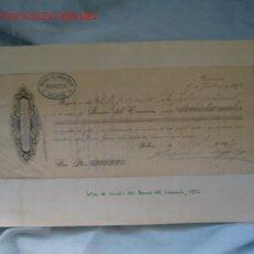 Documentos bancarios: PAGARE. Lote 1179100