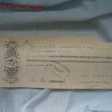 Documentos bancarios: PAGARE BANCO DE BILBAO. Lote 14983349