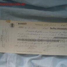 Documentos bancarios: PAGARÉ. Lote 18100551